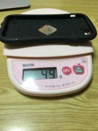 iFace 重さ 実測