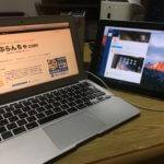iPadをサブディスプレイ化するアプリDuetDisplayの使い方