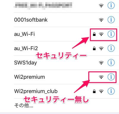 Wi-Fi セキュリティー