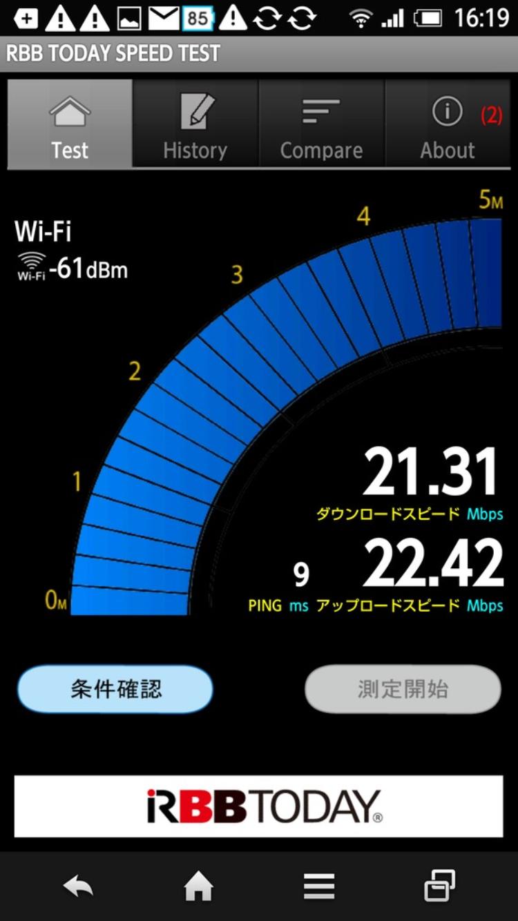 楽天モバイル Wi-Fi 速度