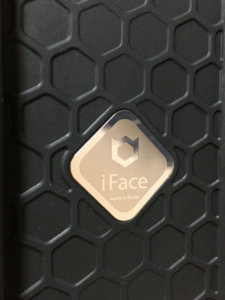 iFace 金色 シール 画像