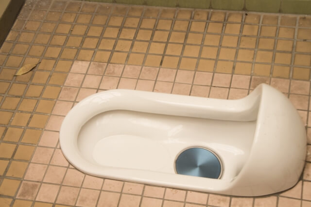和式のトイレ