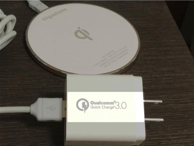 Quickcharge3.0 充電器画像