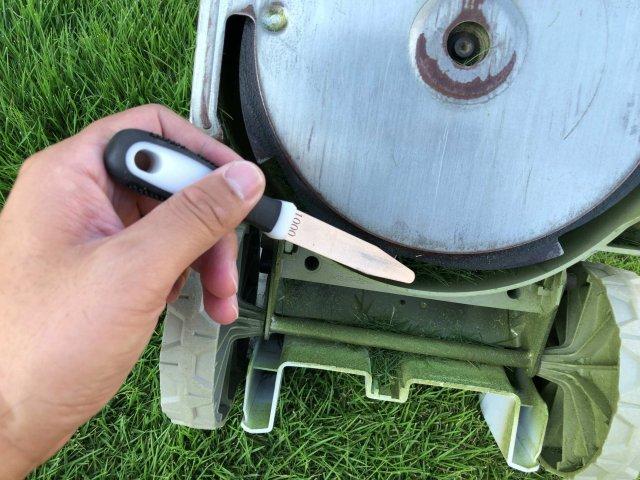 芝刈り機の歯