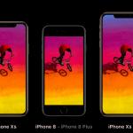iPhoneXsとiPhone8サイズ